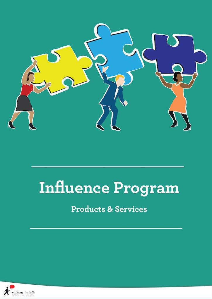 Influence Program | Corporate Culture