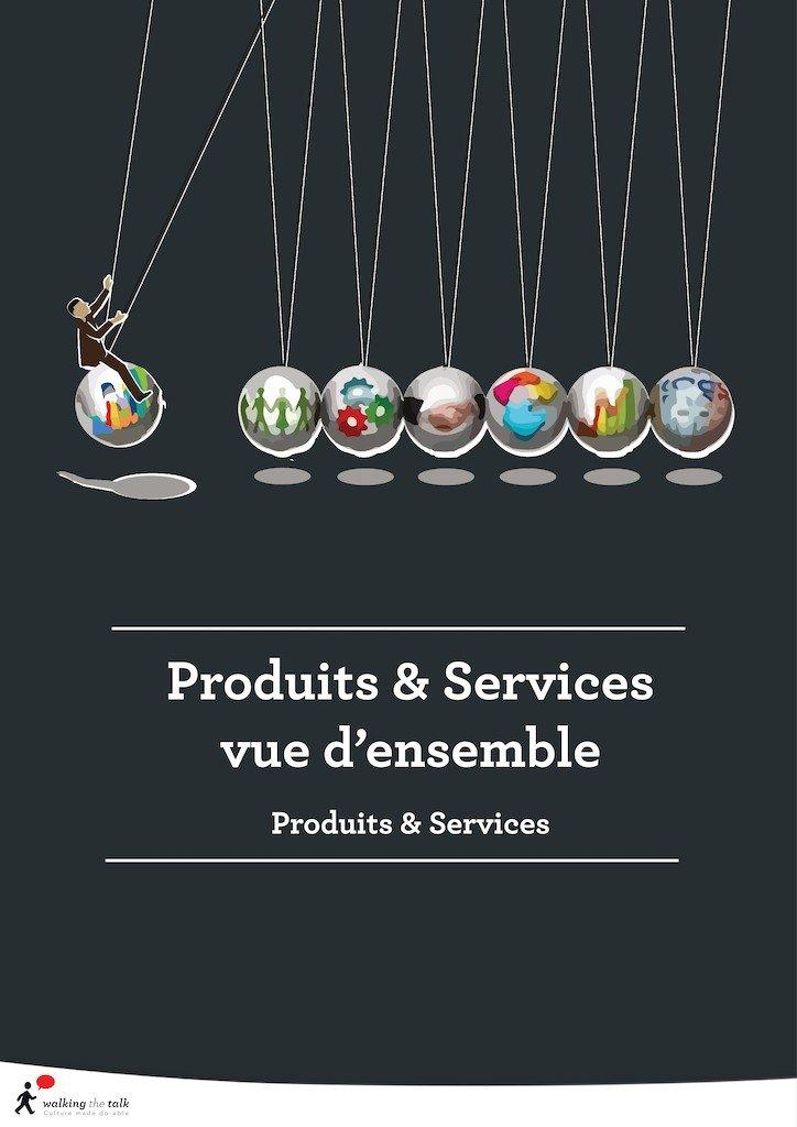 Produits & Services vue d'ensemble