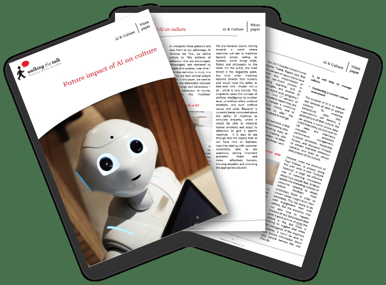 Future Impact of AI on Culture White Paper