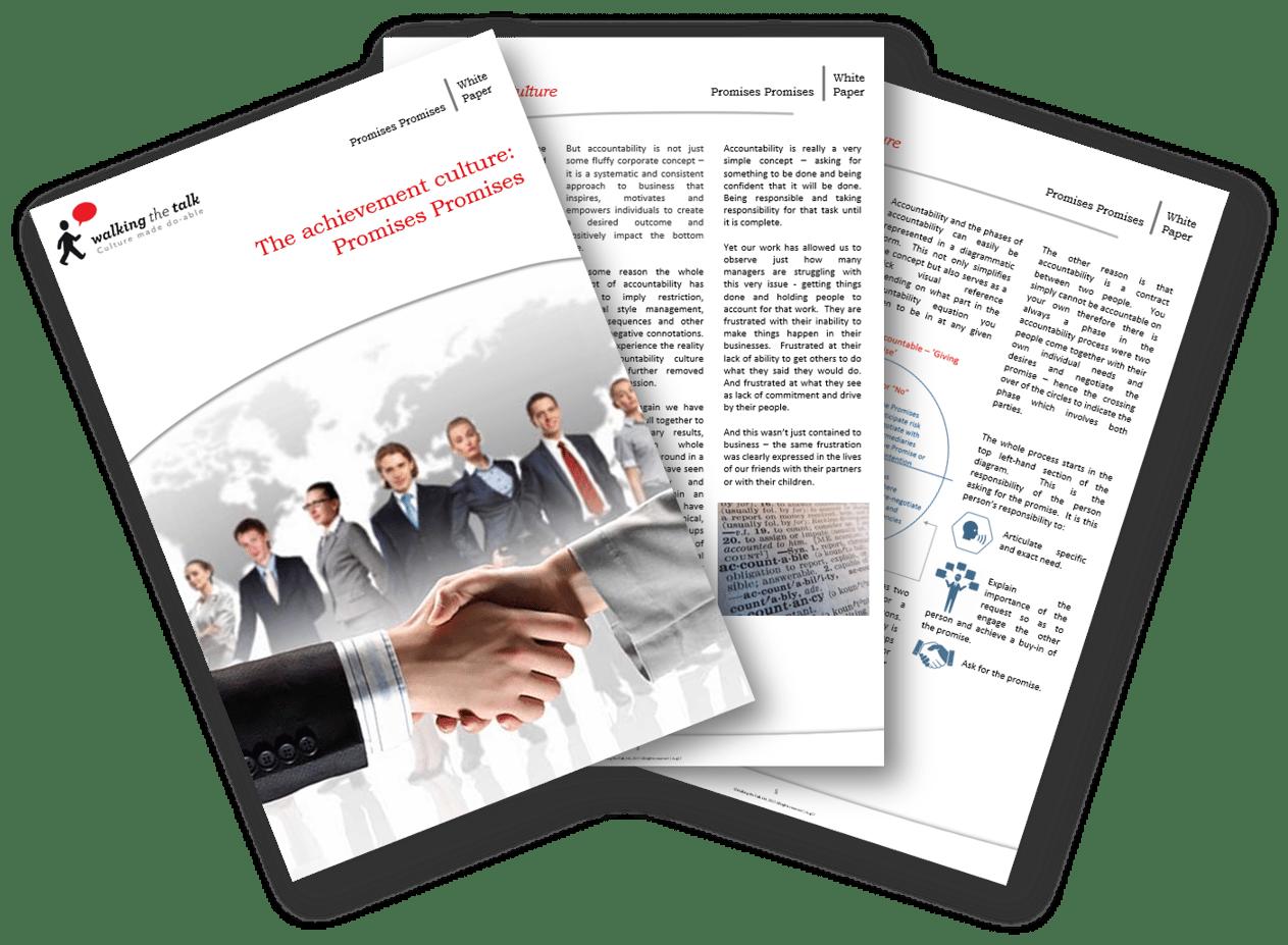 Achievement Culture White Paper