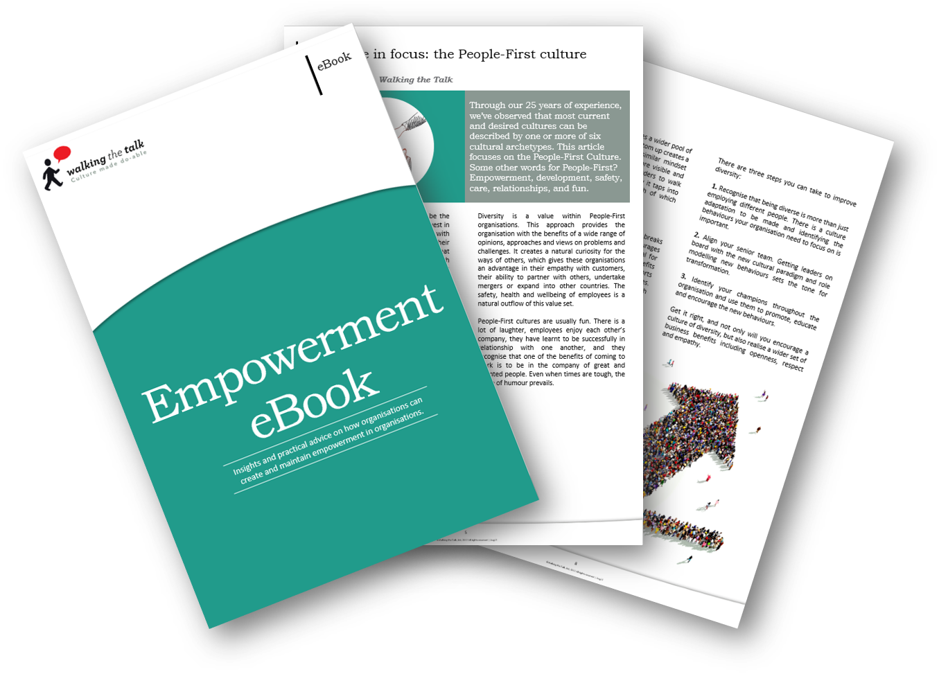 Landing page Empowerement eBook
