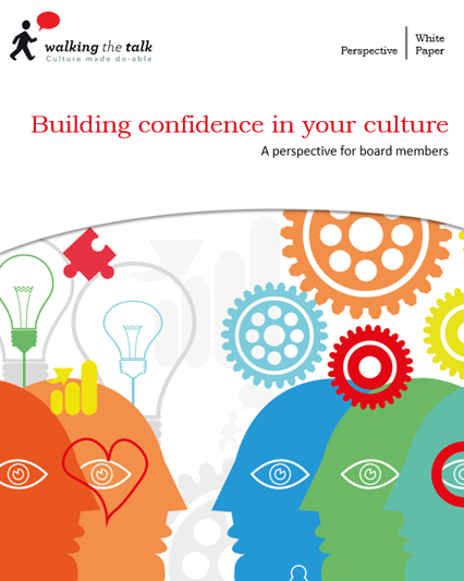 Building Confidence in your Culture