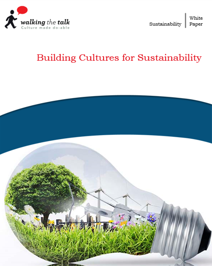 Building culture for sustainability white paper