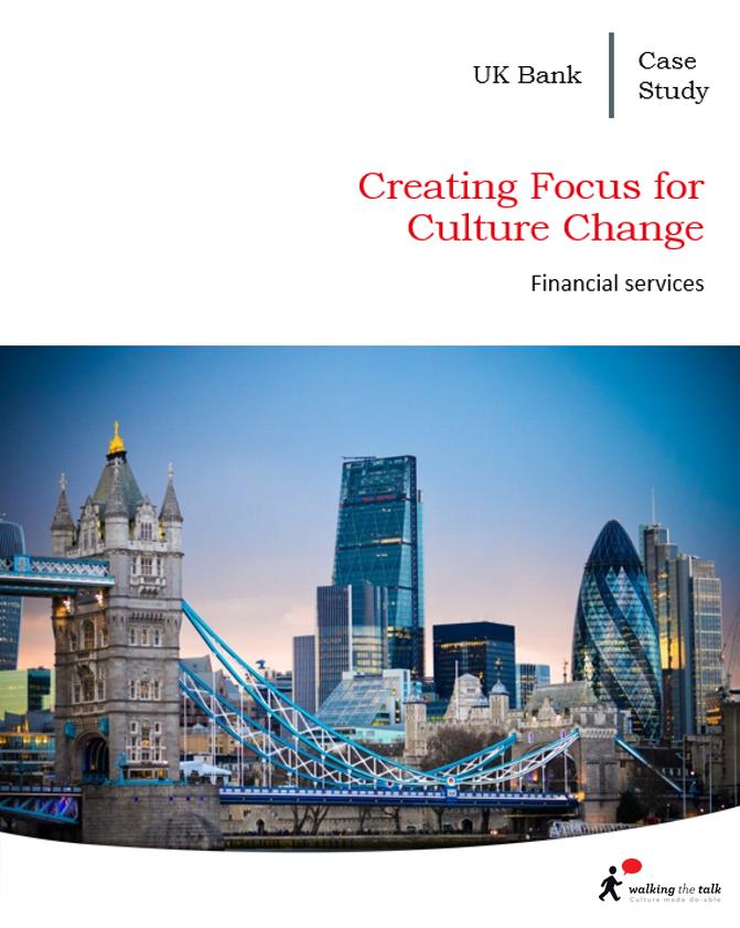 UK Bank corporate Culture